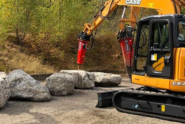 hydraulic breakers for mini excavators