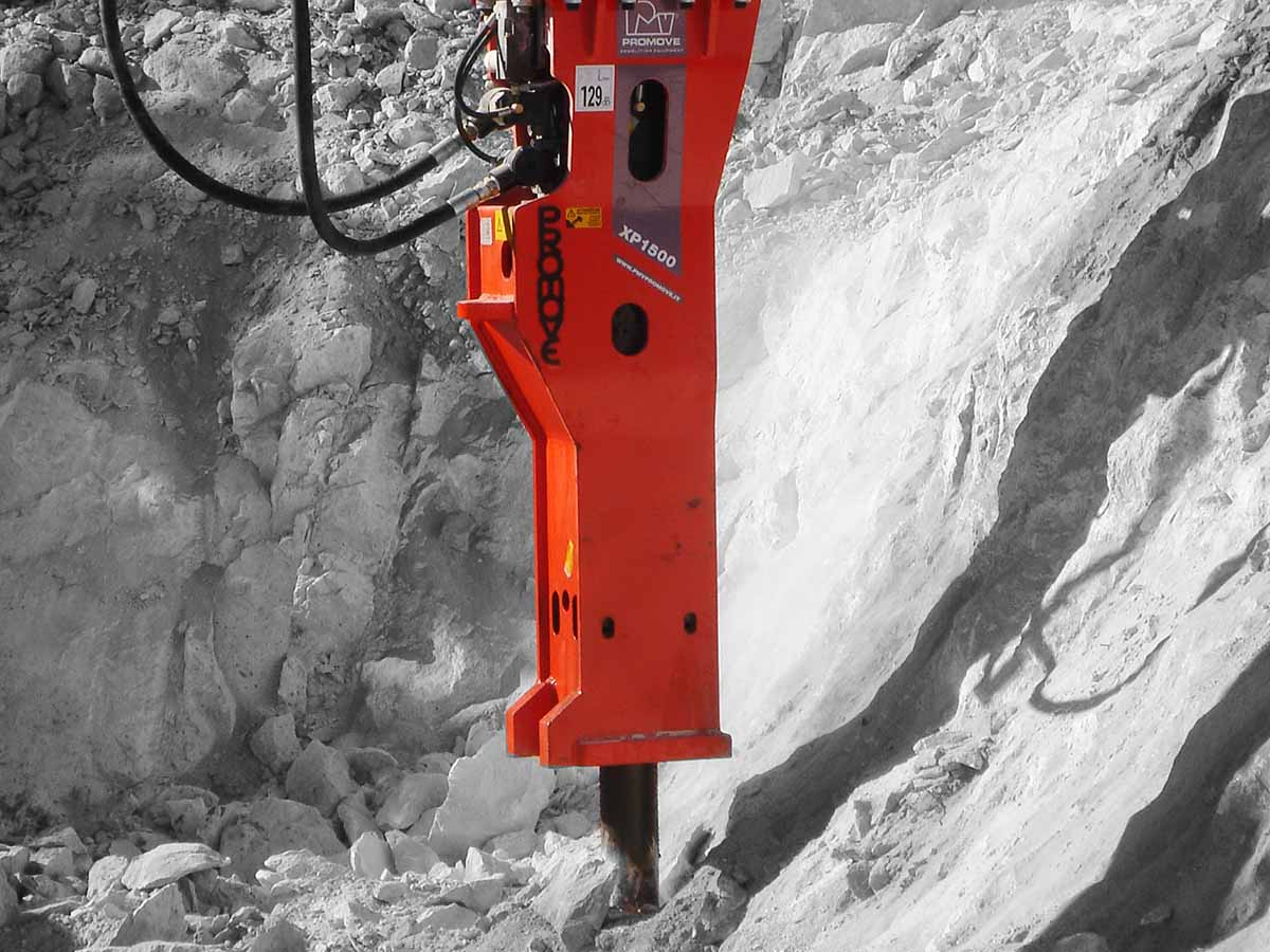 Hydraulic Breakers for Tunnels