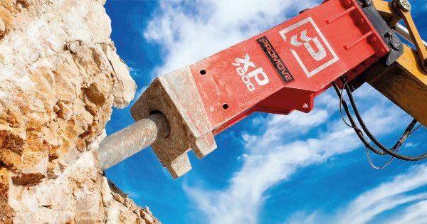 promove hydraulic breakers xp7000